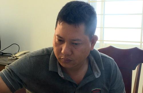 Nghi can Hiền bị bắt giữ để điều tra hành vi giết người. Ảnh: Quang Bình