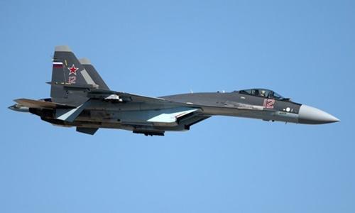 Chiến đấu cơ Su-35. Ảnh: Sputnik.