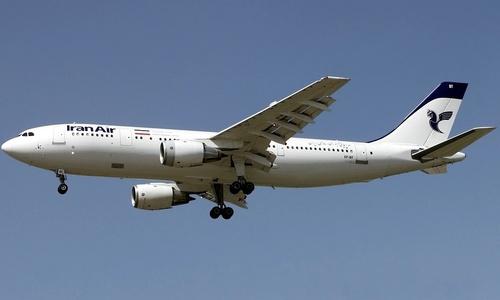 Phi cơ chở hơn 50 người rơi ở Iran