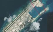 Trung Quốc có thể đang xây phi pháp trung tâm liên lạc ở đá Chữ Thập