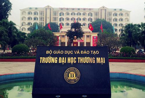 Đại học Thương mại đóng tại quận Cầu Giấy, Hà Nội.