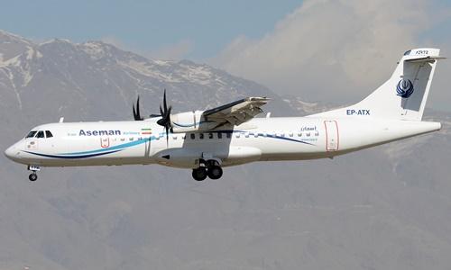 Một phi cơ ATR 72 của Aseman Airlines. Ảnh: Plane Spotters.