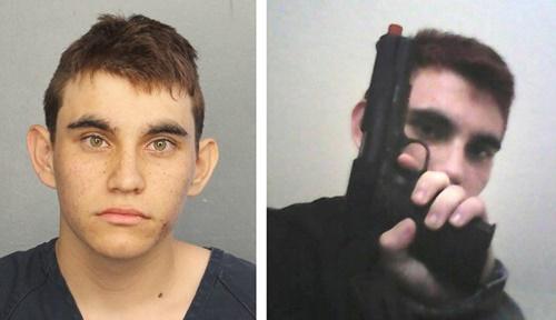 Nikolas Cruz, nghi phạm xả súng trường học ở Florida. Ảnh: Broward Sheriffs Office/Instagram.