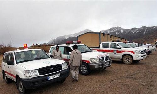 Các phương tiện tham gia chiến dịch cứu nạn. Ảnh: PressTV.