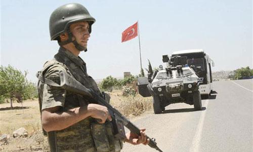 Binh sĩ Thổ Nhĩ Kỳ tham gia chiến dịch tấn công Afrin. Ảnh: Al-Masdar News