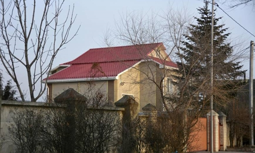 Tòa nhà được cho là trụ sở của nhóm công nghệ thông tin Triều Tiên tạiVladivostok. Ảnh: Kyodo.