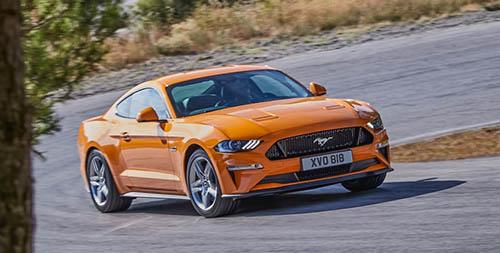 Ford Mustang 2018 bản nâng cấp sắp ra mắt