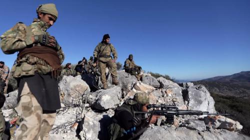 Các chiến binh do Thổ Nhĩ Kỳ hậu thuẫn
