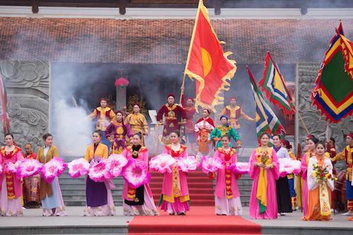 Tái hiện cảnh chiến tranh loạn lạc và chiến tích huy hoàng của vua Quang Trung  Nguyễn Huệ. Ảnh: Mạnh Cường