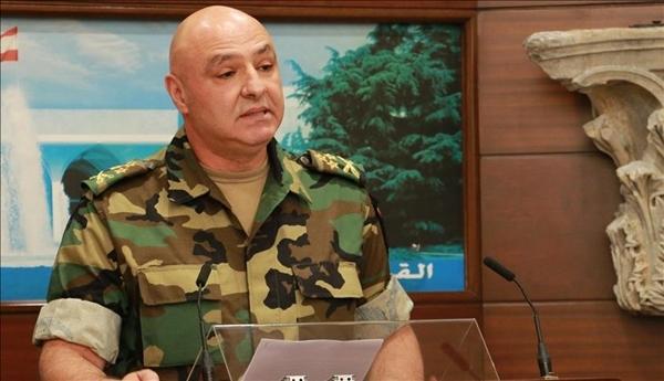 Tư lệnh quân đội Lebanon Joseph Aoun. Ảnh: Anadolu.