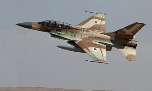 Một tiêm kích F-16 của không quân Israel. Ảnh: Almasdar News.