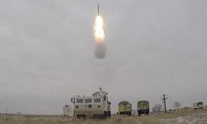 Nga bắn thử tên lửa chuyên tác chiến ở Bắc Cực