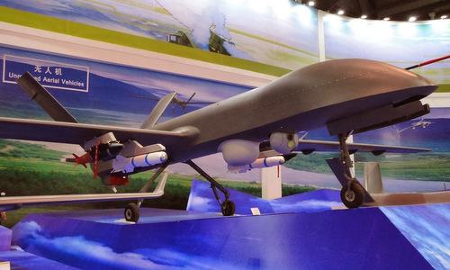 Mẫu UAV Trung Quốc có thể đe dọa tàu sân bay Mỹ