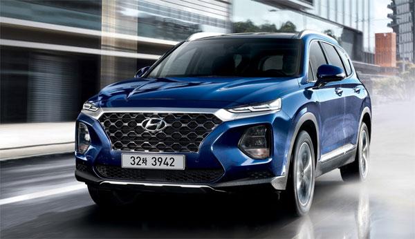 Hyundai Santa Fe 2019 ra mắt