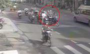 9 xe máy bao vây một người để cướp 30 triệu đồng