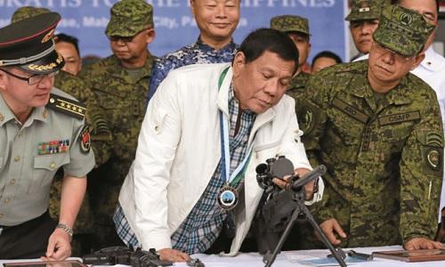 Philippines muốn rèn quân ở Trung Quốc để cân bằng với Mỹ