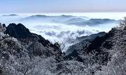 Giá lạnh biến đồi núi Trung Quốc thành tranh thủy mặc