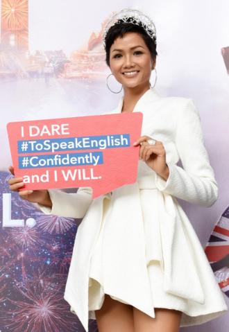 Hoa hậu Hoàn vũ Việt Nam 2017 HHen Niê chia sẻ thông điệp I Dare. I Will. như một cách để nhắc nhở bản thân vượt qua thử thách.