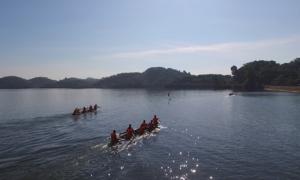 Lễ hội đua thuyền trên hồ thủy lợi của người Lâm Đồng