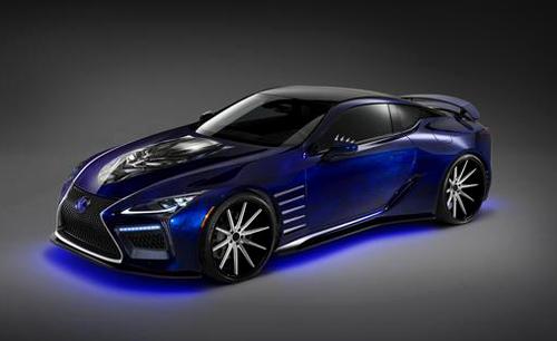 Lexus LC500 - xe thể thao hàng độc của siêu anh hùng Black Panther
