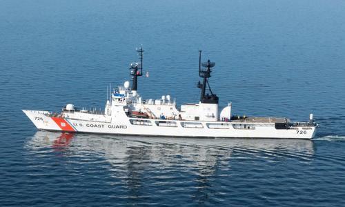 Tàu tuần tra xa bờ của Tuần duyên Mỹ. Ảnh: Reuters.