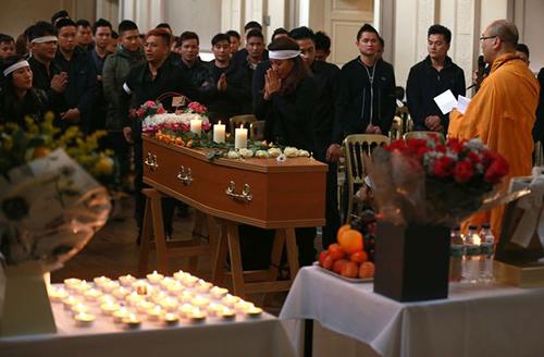 Tang lễ của Quyen Ngoc Nguyen ở Newcastle(Image: Newcastle Chronicle)