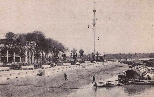 Cột cờ Thủ Ngữ gắn với nhiều thăng trầm của Sài Gòn. Ảnh tư liệu