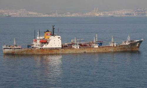 Tàu hàng Triều Tiên. Ảnh: NBC News.