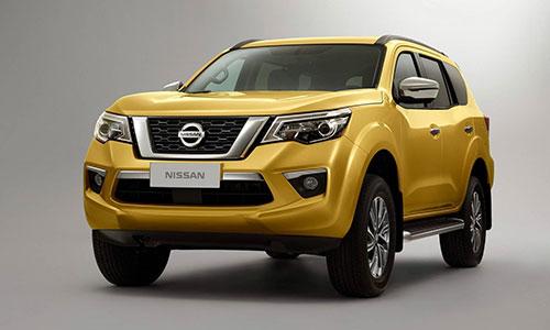 Lộ diện mẫu SUV 7 chỗ mới của Nissan.