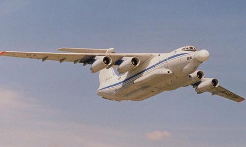 Tổ hợp vũ khí laser trên máy bay A-60. Ảnh: Russian Planes.