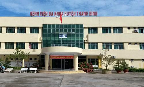 Với việc bổ nhiệm thần tốc con trai làm phó khoa, ông Phạm Văn Nông bị cách chức giám đốc bệnh viện đa khoa Thanh Bình. Ảnh: An Phú