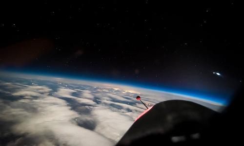 Hình ảnh Trái Đất máy bay do thám Mỹ chụp từ rìa vũ trụ - 1