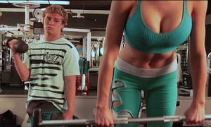 Những hình ảnh ít ngờ đến trong phòng tập gym