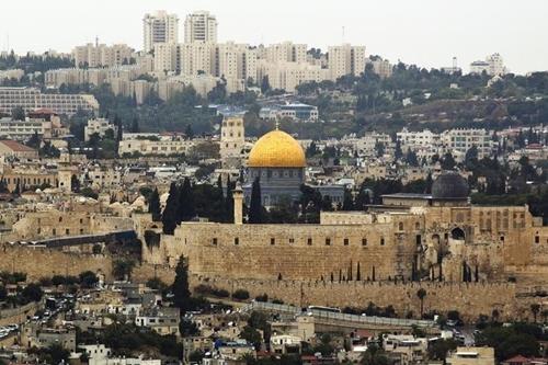 Khu vực thành cổ ở Jerusalem. Ảnh: Reuters.