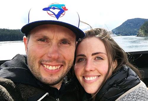 Vợ chồng vận động viên David Duncan. Ảnh: Instagram