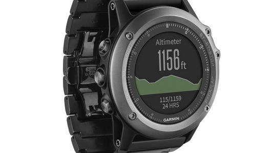 Chế độ đo độ cao của đồng hồ thông minh. Ảnh: Garmin.