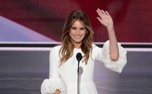 Đệ nhất phu nhân Mỹ Melania. Ảnh: AFP