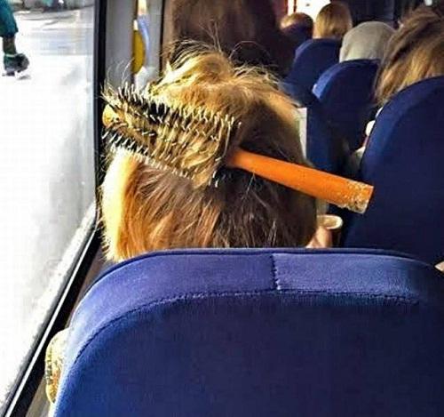 Mốt làm tóc mới của quý cô bận rộn.
