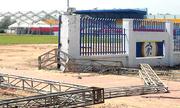 4 người bị điện giật khi dựng giàn giáo ở sân vận động