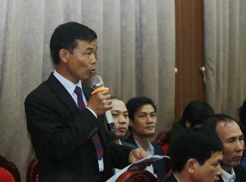 Ông Nguyễn Văn Luân, xã Cổ Đông, thị xã Sơn Tây. Ảnh: Nguyễn Hùng.