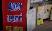 Đại lý treo biển tìm người bí ẩn trúng Vietlott 112 tỷ đồng