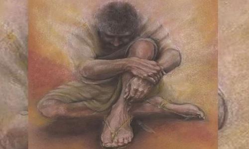 Phục dựng chân dung Chúa Jesus. Ảnh: Cathy Fisher.