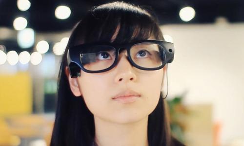 Hãng Onton Glass nghiên cứu chế tạo loại kính thông minh mới.Ảnh: Verge.