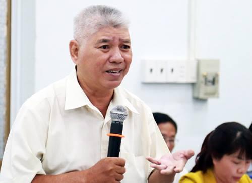 Tiến sĩ Phạm Sanh cho rằng khó giảm kẹt xe bằng việc tăng phí đỗ ôtô. Ảnh: Hữu Công.
