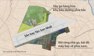Tư vấn nước ngoài đề xuất mở rộng sân bay Tân Sơn Nhất thế nào?