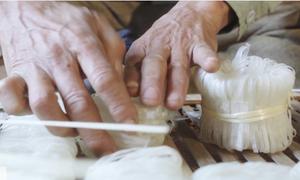 Làng nghề mì gạo không phụ gia, hóa chất ở Bắc Giang