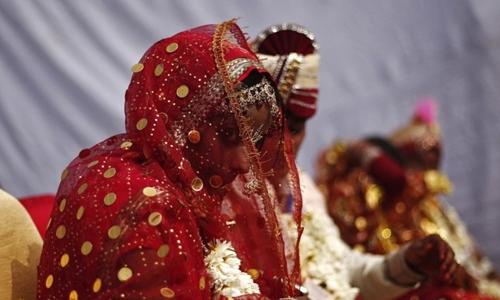 Một đám cưới ở Ấn Độ. Ảnh: Reuter.