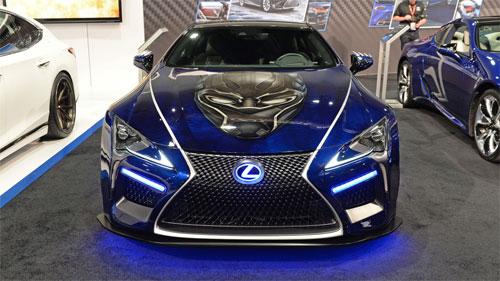 Lexus LC500 phiên bản Báo đen. Ảnh: Autoblog.