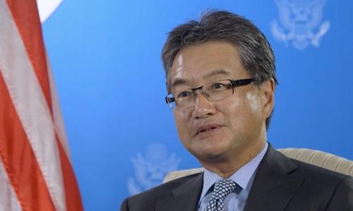 Joseph Y. Yun, nhà ngoại giao Mỹ chuyên về Triều Tiên vừa từ chức. Ảnh: AP.