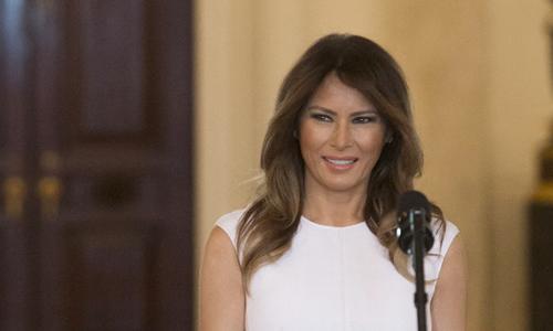 Đệ nhất phu nhân Mỹ Melania Trump. Ảnh: AFP.